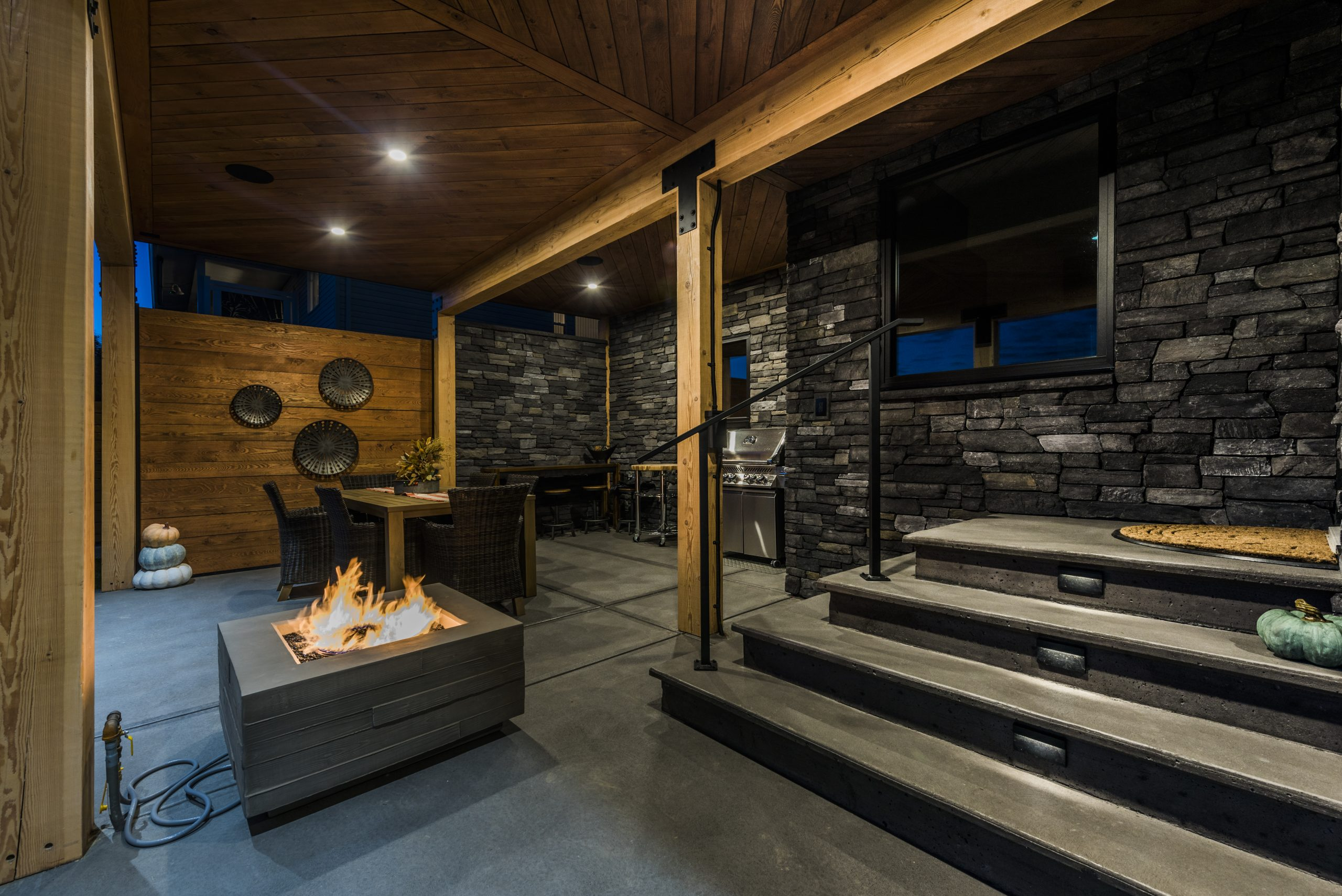 concrete work - custom home