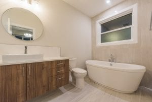 Elite do bathroom renovation for house and condo in Kamloops