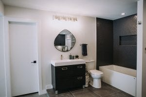 vanity bathroom