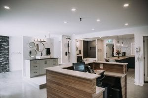 Kamloops custom home showroom