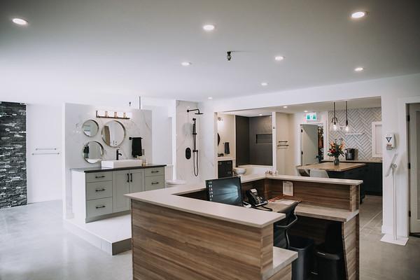 Kamloops custom home showroom