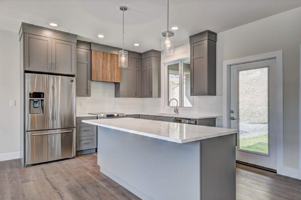 kitchen renovation contractor in Kamloops can help you renovate modern and stylist cabinet and countertop