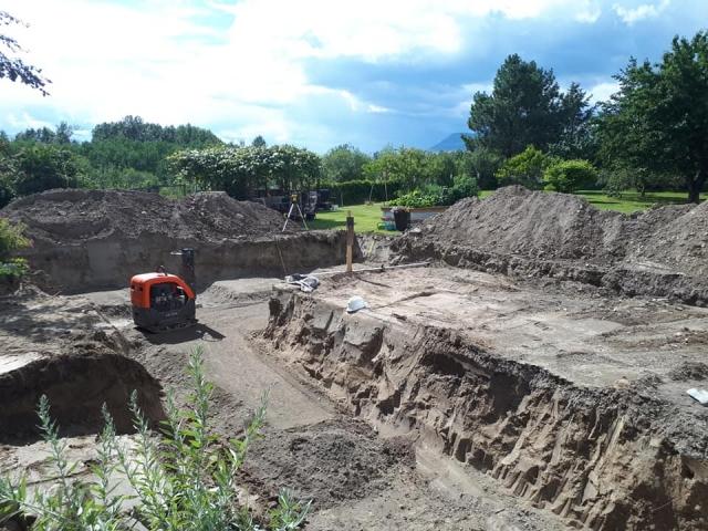 We help excavation for grading in Kamloops