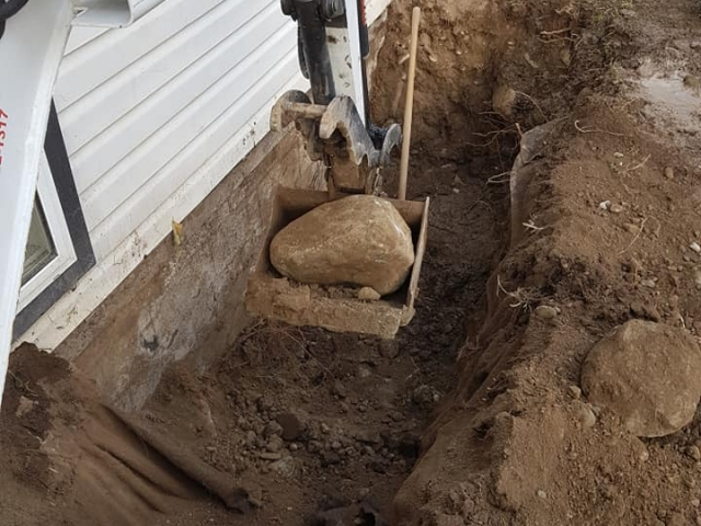 Elite did digging jobs for homeowners